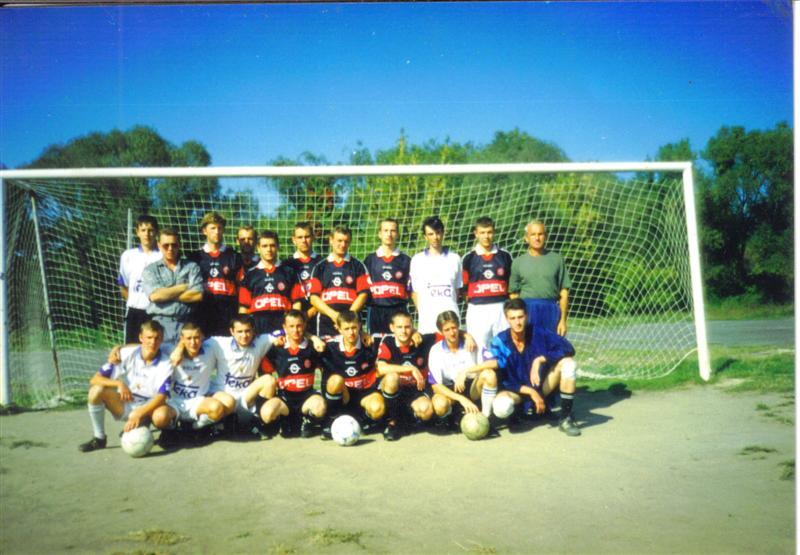 Серебренные призёры Чемпионата города Василькова 2000.