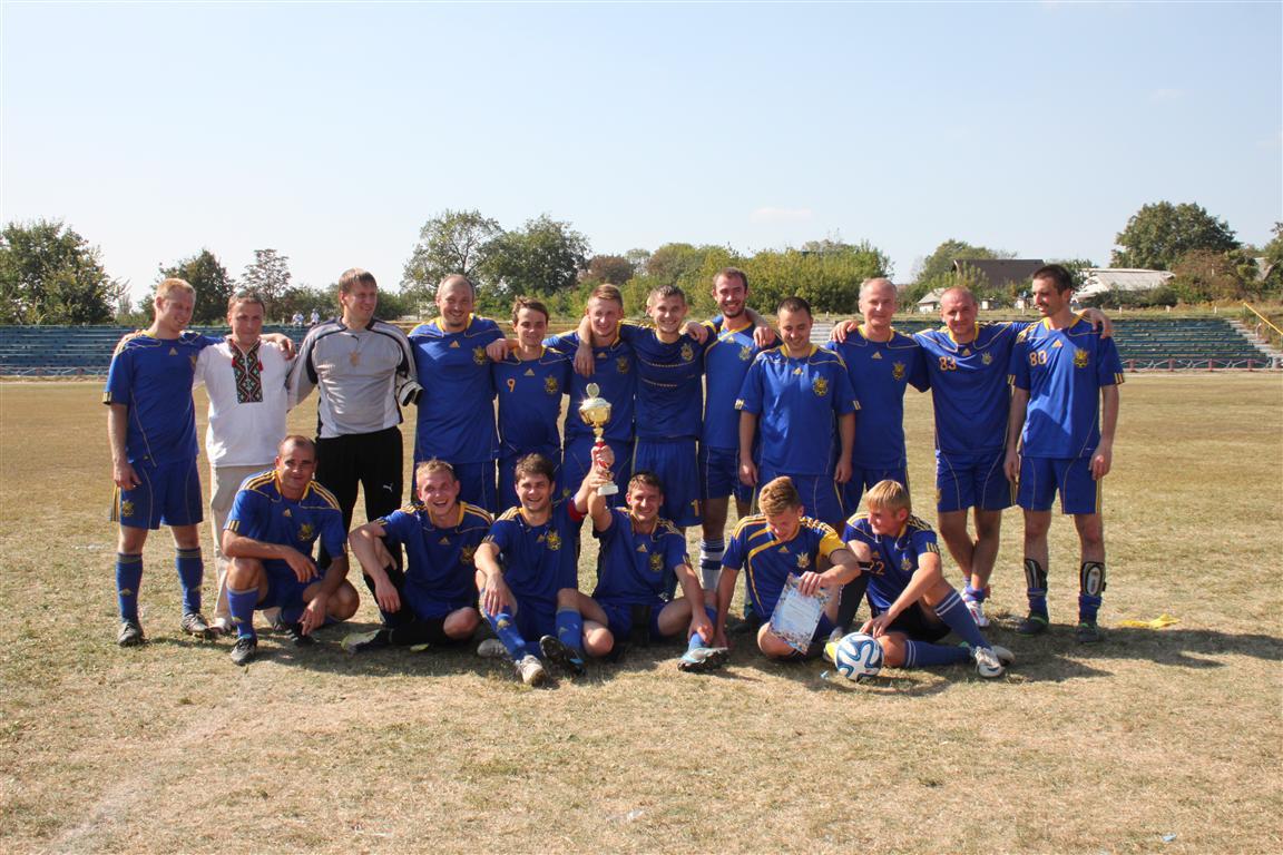 Обладатель Кубка города Василькова по футболу 2014 года.